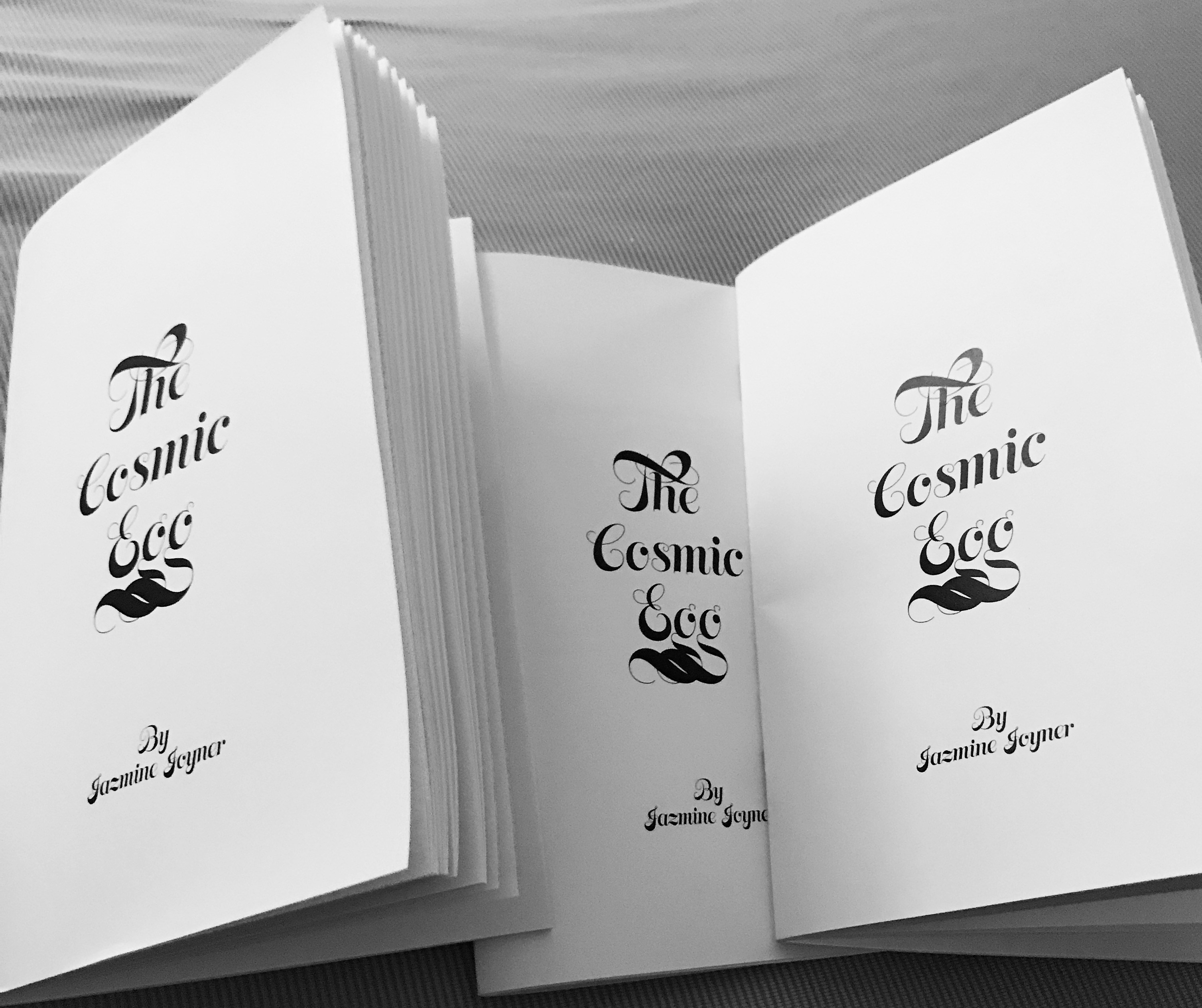 The Cosmic Egg Zine.